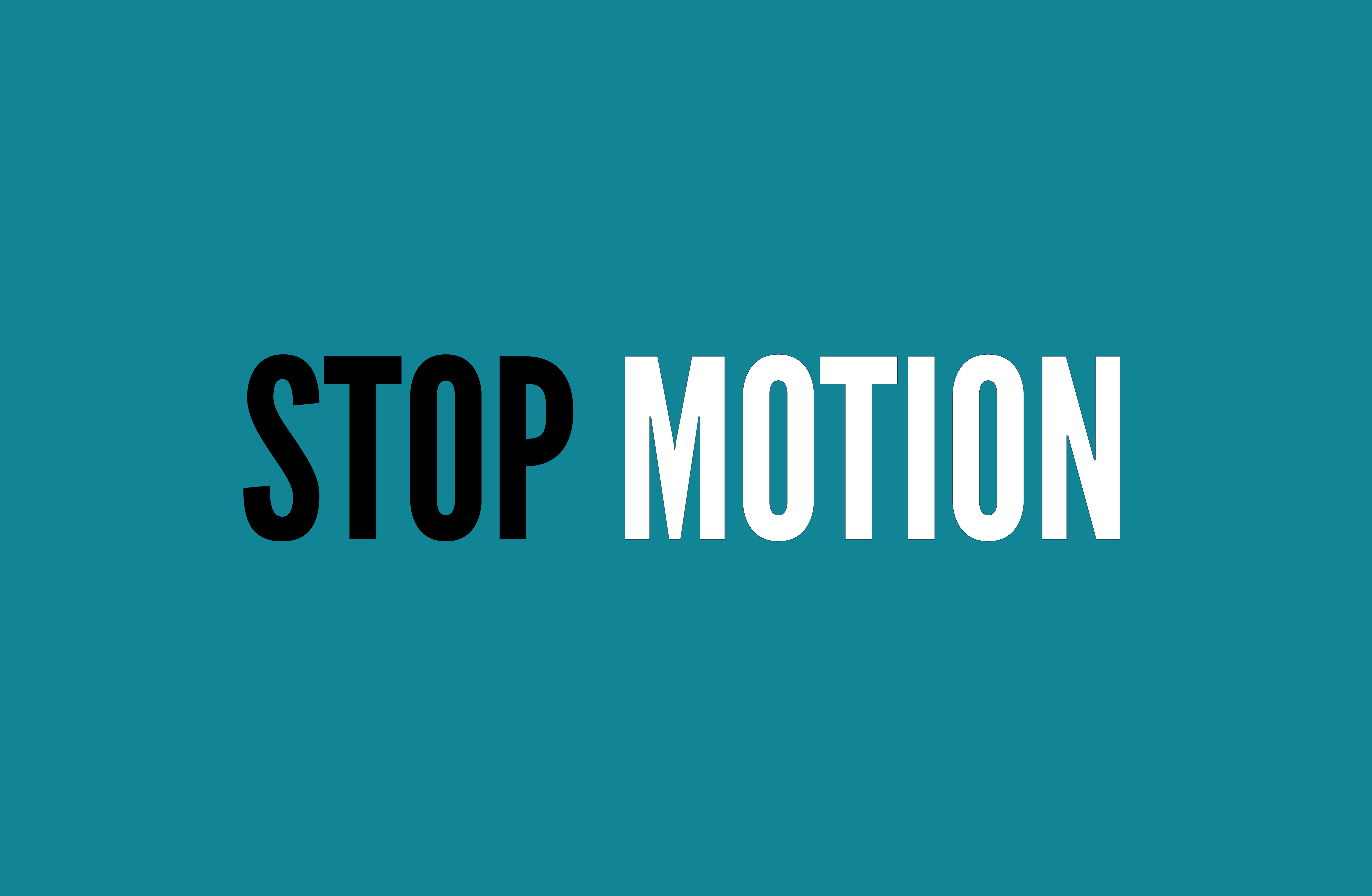 how to stop motion video