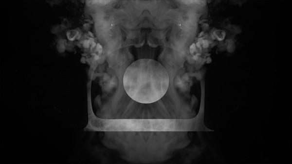 Motion design visuel de scène fumée
